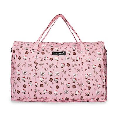 murmur收納旅行袋HELLOKITTY 配件粉紅(中)