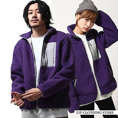 仿羊絨布勞森外套限定聯名款(5色) ZIP日本男裝