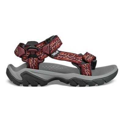 TEVA Terra Fi 5 Universal 女 經典水陸健行涼鞋 圖紋橘紅