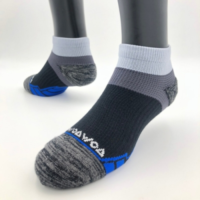 【WOAWOA】能量激發登山襪-低筒(登山襪 厚襪子 短襪 除臭襪 運動襪 露營 加厚 襪子 機能襪 壓力襪 足弓襪 襪子)