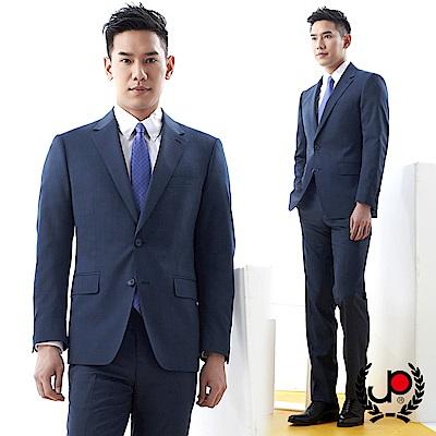 極品西服 品味暗紋緹花毛料西裝外套_深藍(AS701-3G)