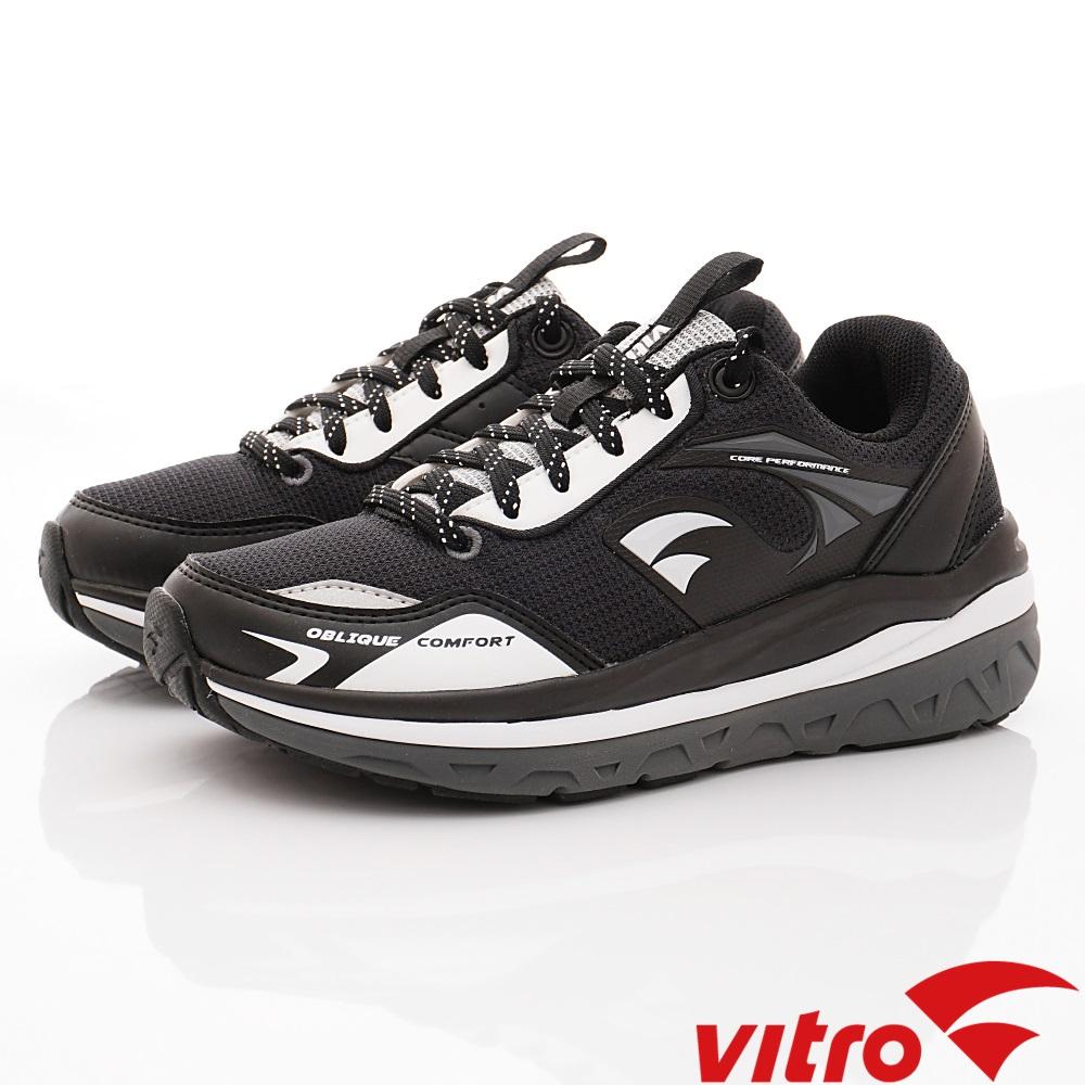 Vitro韓國專業運動品牌-OC106-BLK頂級健走機能鞋-黑(男)