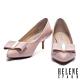 高跟鞋 HELENE SPARK 氣質名媛風金飾蝴蝶結羊皮尖頭高跟鞋