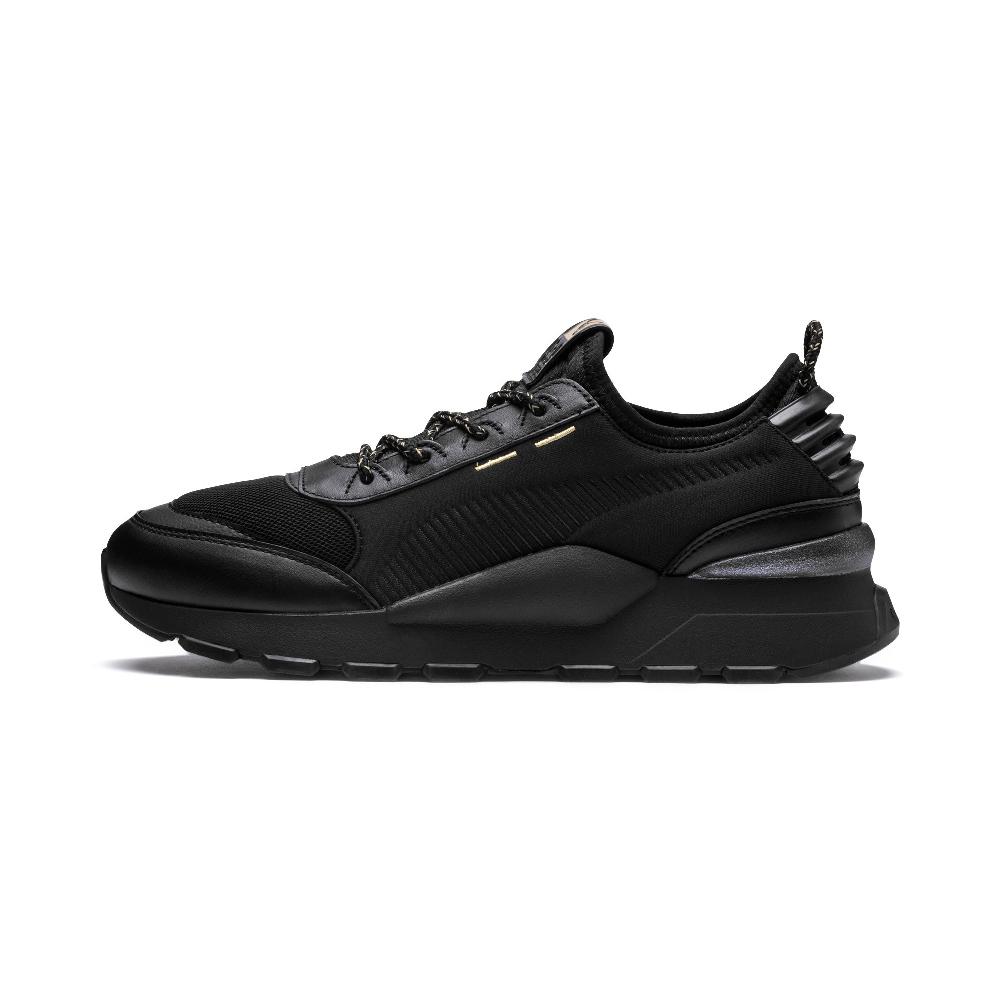 PUMA-RS-0 TROPHY男女復古慢跑運動鞋-黑色