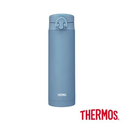 THERMOS膳魔師不鏽鋼彈蓋真空保溫瓶500ml(JNF-502-ABL)土耳其藍