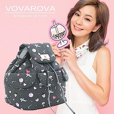 VOVAROVA x 莎莎-百寶袋後背包-福爾摩莎-環遊世界系列