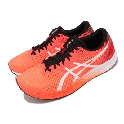 Asics 慢跑鞋 Hyper Speed 2E 寬楦 男鞋 亞瑟士 競賽訓練鞋 流線 鞋頭翹 紅 黑 1011B394600