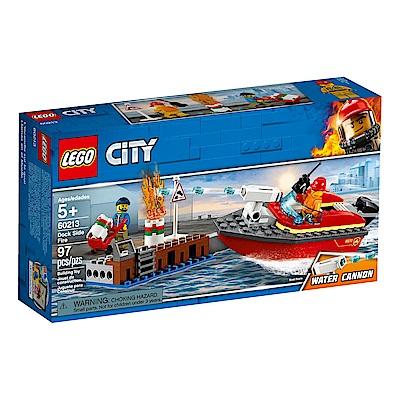 【LEGO樂高】城市系列 60213 碼頭火災