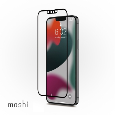 Moshi iVisor AG 防眩光螢幕保護貼 黑 (透明/霧面防眩光) for iPhone 13 pro max