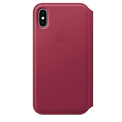 iPhone X Folio皮革保護殼