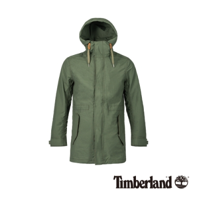 Timberland 男款森林綠防水連帽三合一外套|A1ZQD