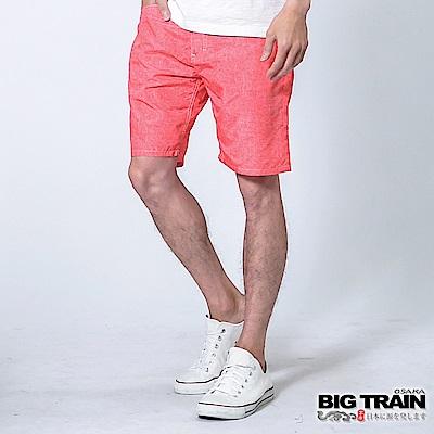 BIG TRAIN 全地域街頭短褲-男-紅牛仔
