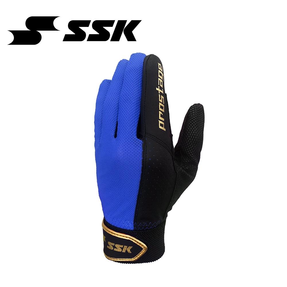 SSK   守備手套   黑/寶藍   BG120A-9063