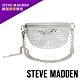 STEVE MADDEN-BMAXED 網路獨家價格 街頭風格貼飾水鑽金屬鍊條小腰包-銀色 product thumbnail 1