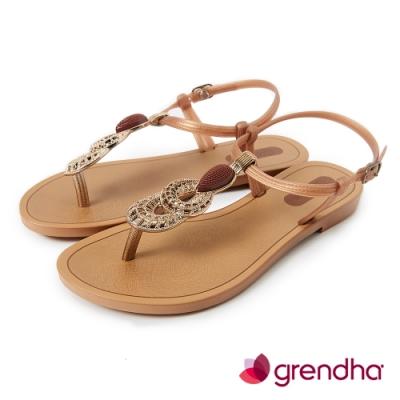 Grendha 神秘波斯華麗時尚涼鞋-金色