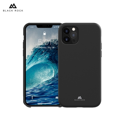 德國 Black Rock 液態矽膠抗摔保護殼-iPhone 12 Pro Max (6.7 )-黑