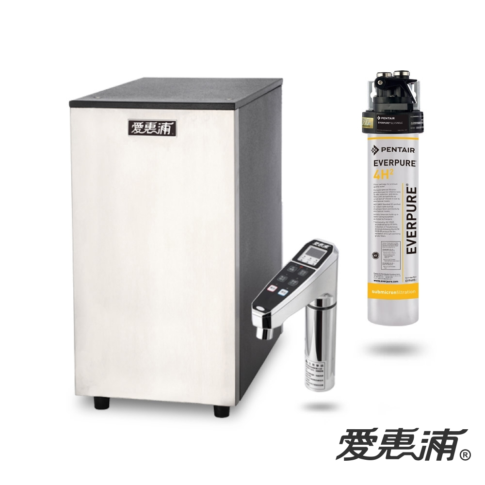 愛惠浦 雙溫加熱系統單道式淨水設備 HS288+PURVIVE-4H2