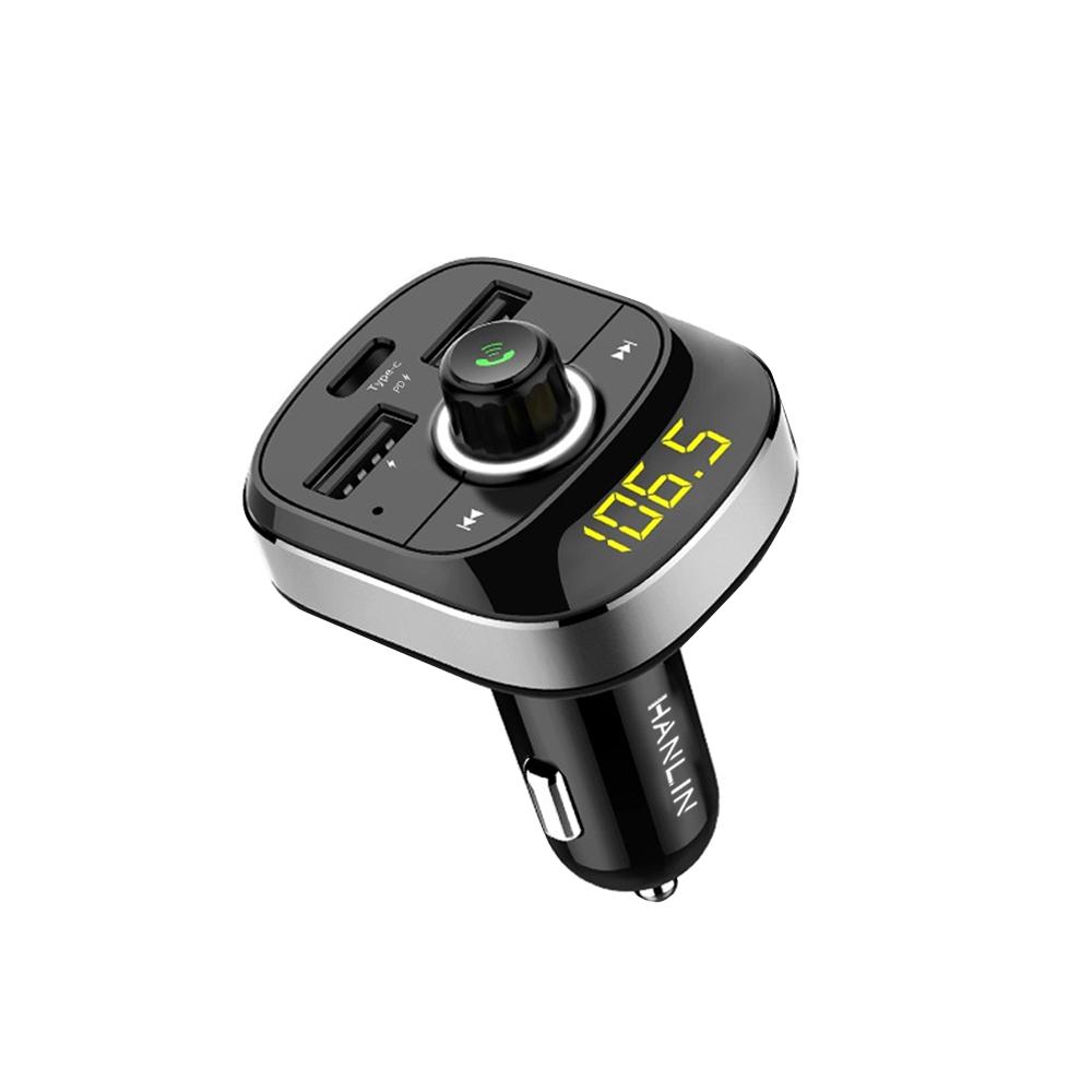 HANLIN-CPD19-車用新PD快充藍牙MP3