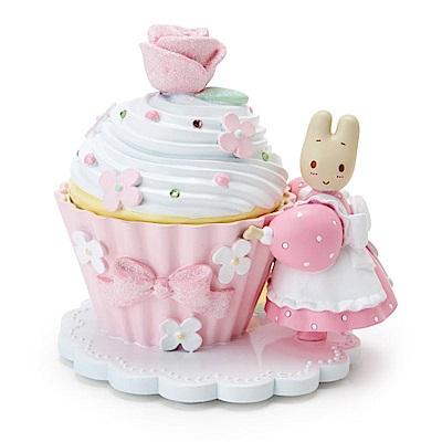 Sanrio 兔媽媽杯子蛋糕系列樹脂材質造型飾品盒
