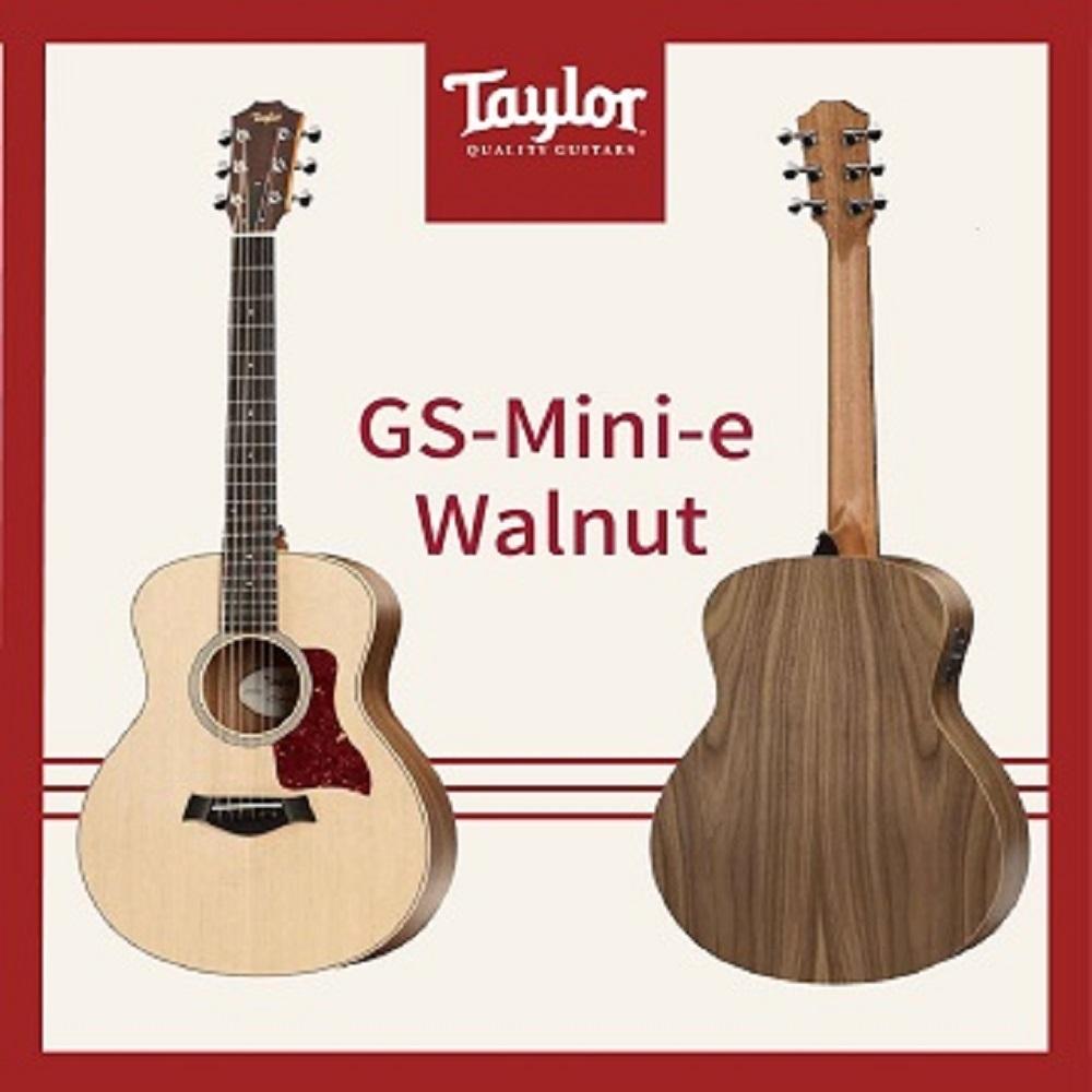 Taylor GS-Mini-e Walnut 美國知名品牌電木吉他/公司貨