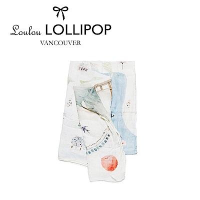 加拿大Loulou lollipop 竹纖維透氣包巾120x120cm-日本東京