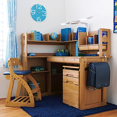 KOIZUMI_WD兒童成長書桌組WDS-872
