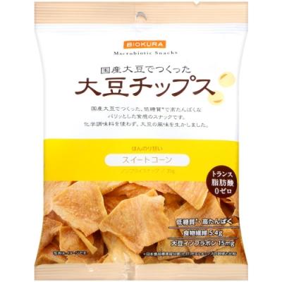 Biokura 大豆脆片-玉米風味(35g)