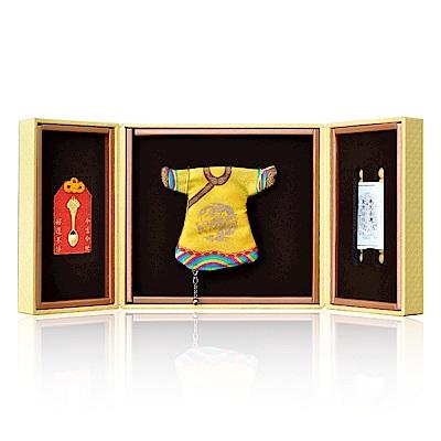今生金飾 如意金匙彌月御守  贈彌月龍袍禮盒or彌月三寶禮盒