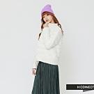 H:CONNECT 韓國品牌 女裝 - 輕羽絨排釦外套-白 (快)