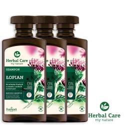 波蘭Herbal Care 牛蒡養髮植萃調理洗髮露(調節頭皮脂腺)330ml(3瓶組)