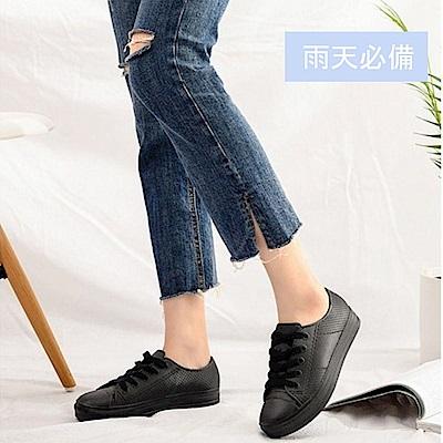 [時時樂限定]韓國KW美鞋館-輕量好走平底雨鞋(3款可選)