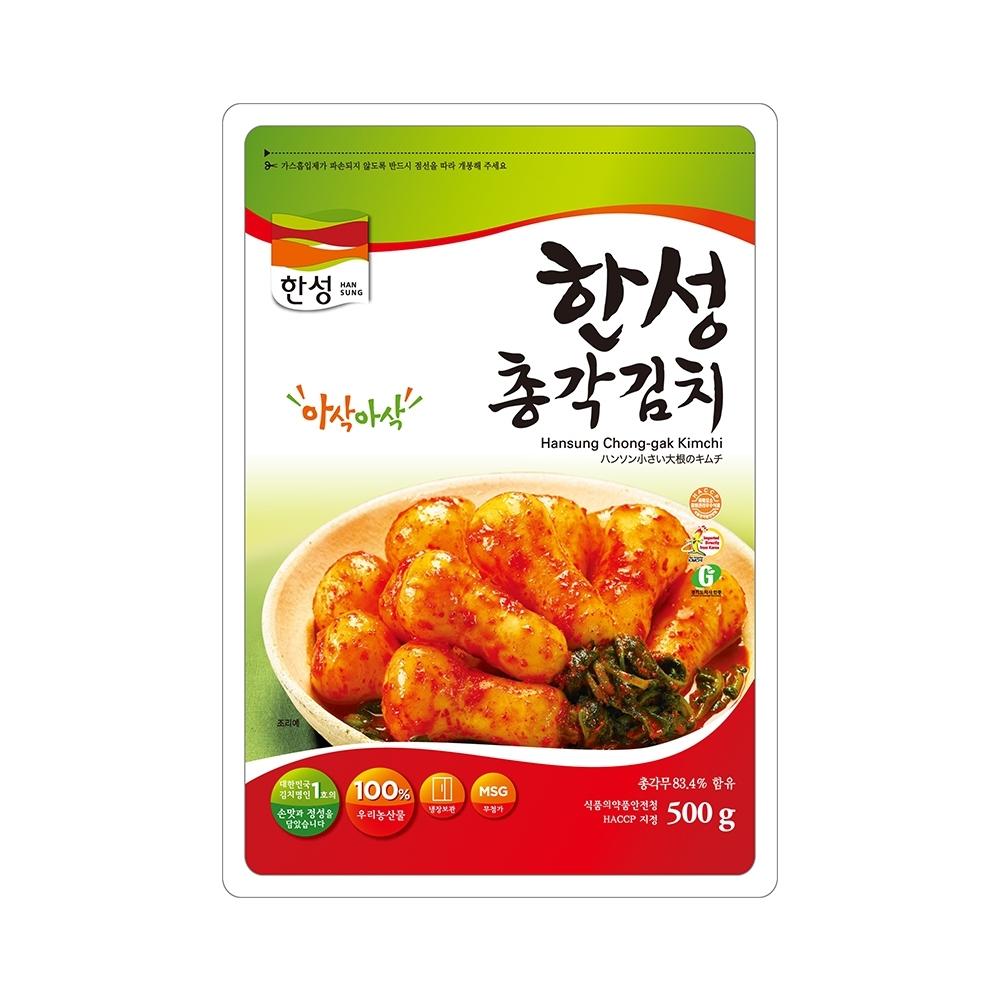 【韓味不二】漢盛Kimchi-小蘿蔔泡菜(500g)