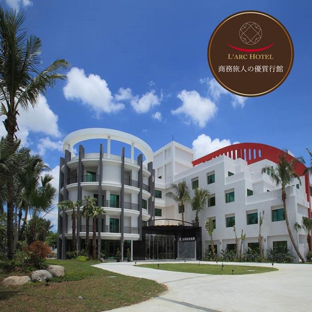 (台南)南科商務旅館2人標準雙人房住宿含早