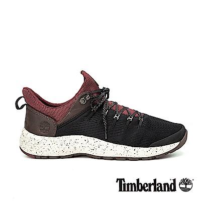 Timberland 男款FlyRoam黑紅色運動鞋