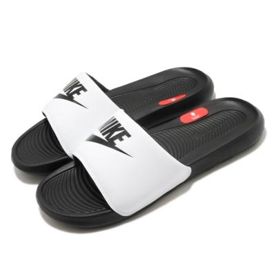 Nike 拖鞋 Victori One Slide 男女鞋 輕便 套腳 簡約 舒適 情侶穿搭 黑 白 CN9675005
