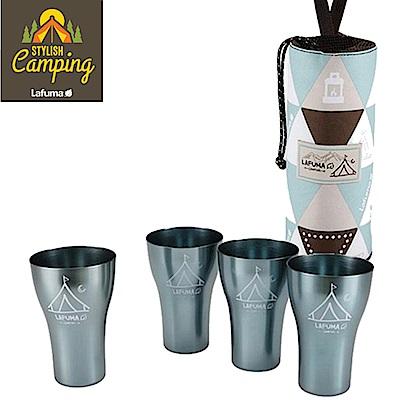 LAFUMA EQUIP 印地安風曲線杯四入組 露營 登山 野餐