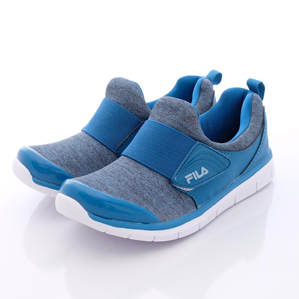 FILA頂級童鞋款 超輕量運動鞋款 EI16Q-333藍(中大童段)0
