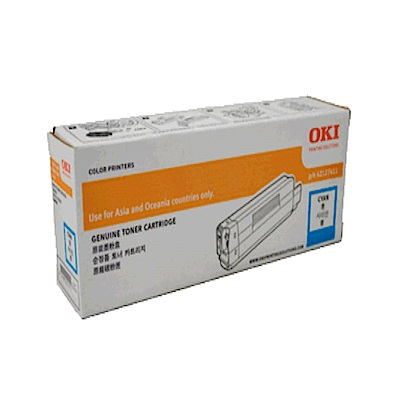 OKI 46490611 原廠高容量 藍色碳粉6K 【適用C532/MC573 】
