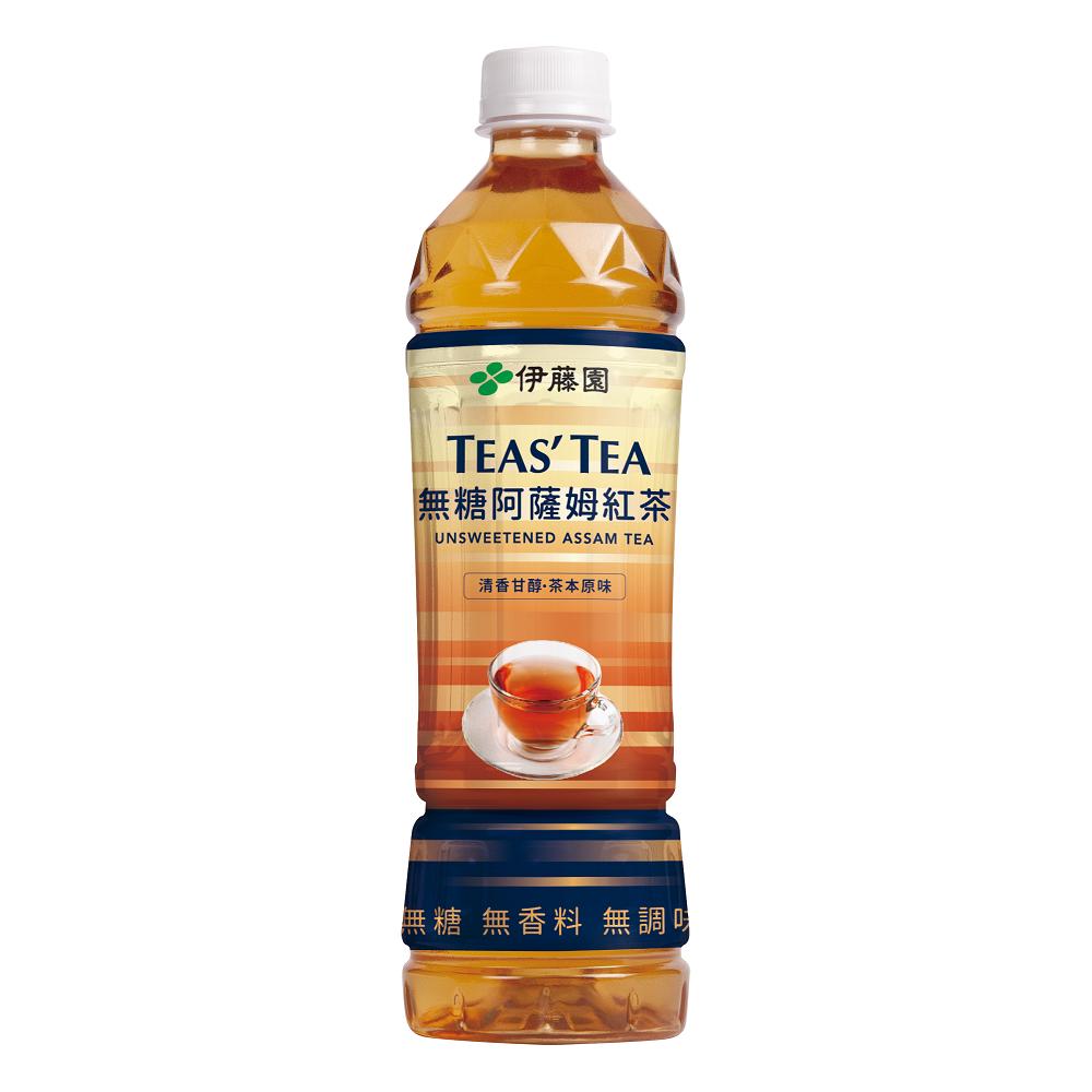 【伊藤園】 Tea's Tea 無糖阿薩姆紅茶(535mlx24入)