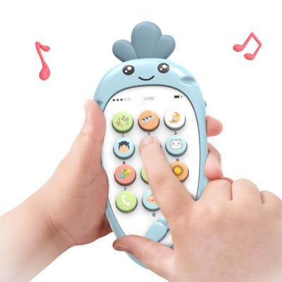 colorland 兒童音樂玩具手機 嬰兒多功能牙膠雙語寶寶玩具