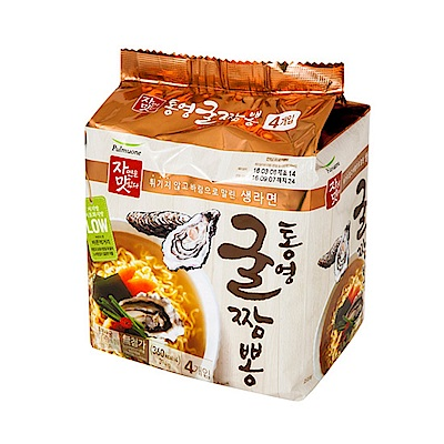 韓味不二  pulmuone 牡蠣炒碼麵(98.5gx4入)