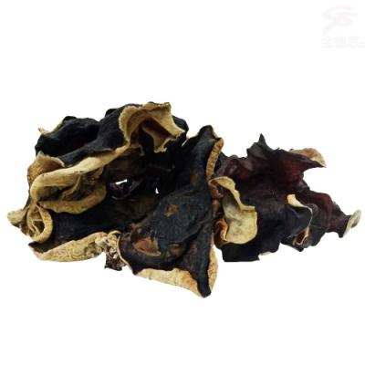 金德恩 台灣製造 有機認證 二包食在健康美顏聖品養生白背黑木耳1包600g