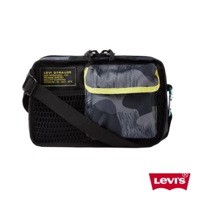 Levis 男女同款 機能斜肩包 雪地迷彩拼接 隨身小包