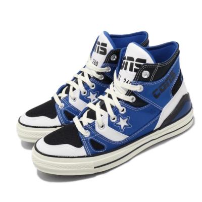 Converse 休閒鞋 All Star 高筒 穿搭 男女鞋 基本款 三星黑標 拼接 情侶鞋 藍 黑 167828C