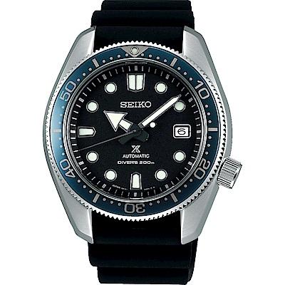 SEIKO精工 Prospex 專業200米潛水錶(SPB079J1)-黑/44mm