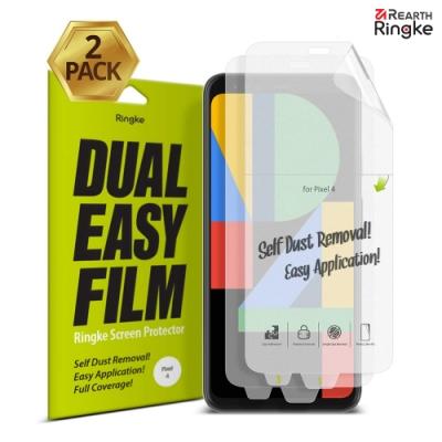 【Ringke】Pixel 4/4 XL 易安裝滿版螢幕保護貼-2入