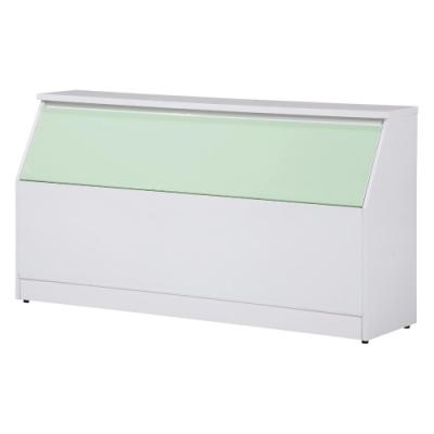 愛比家具 防水塑鋼3.5尺單人加大床頭箱(三色可選)