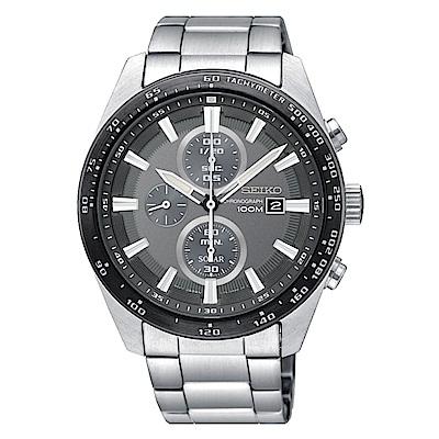 SEIKO 精工 CRITERIA登躍極致太陽能運動腕錶/SSC651P1/V176-0A