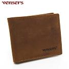 vensers 小牛皮潮流個性皮夾~(NB019901瘋馬皮短夾)