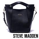 STEVE-MADDEN-BMARA-簡約知性多夾層手提/側背兩用包-黑色